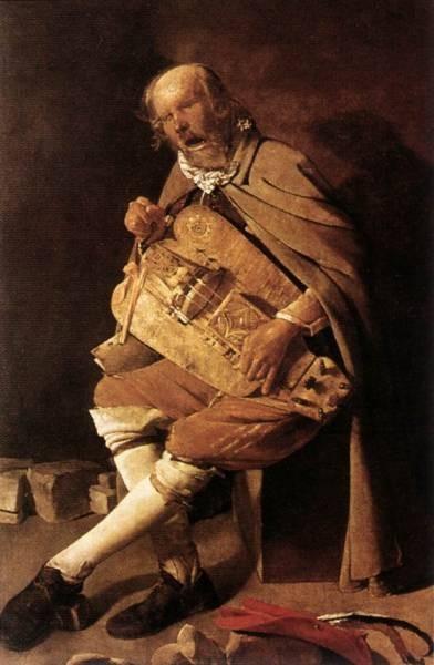 The Hurdy gurdy Player WGA